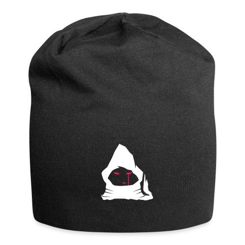 logo-jester-wolf-blanc - Bonnet en jersey