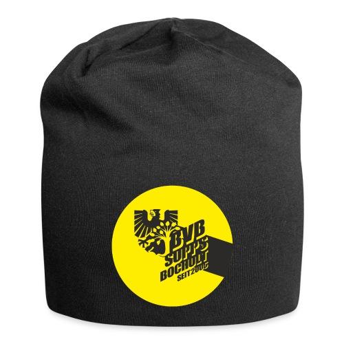 Supps-Bocholt Button gelb - Jersey-Beanie