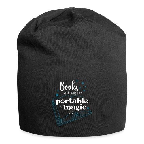0030 books are unique magic | Magic - Jersey Beanie