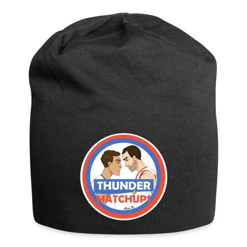 Thunder Matchups Logo - Beanie in jersey