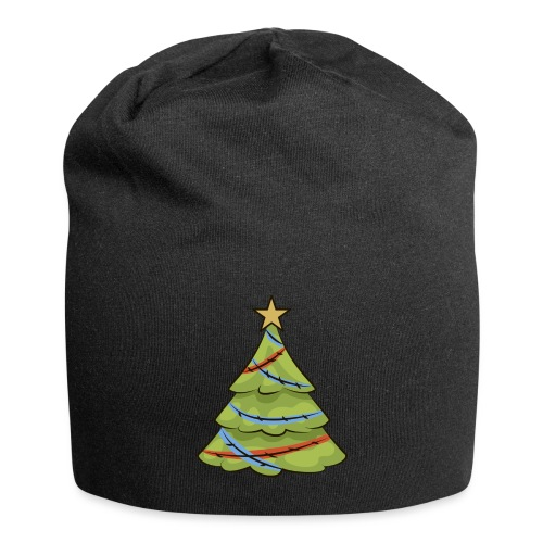 Christmas tree, tree, christmas, new year - Jersey Beanie