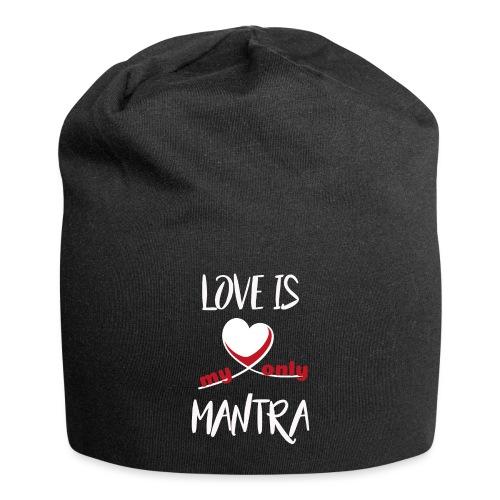 LOVE is... - Bonnet en jersey