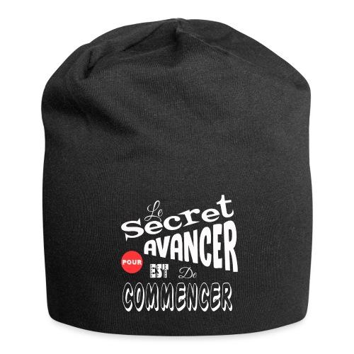 Le secret... - Bonnet en jersey