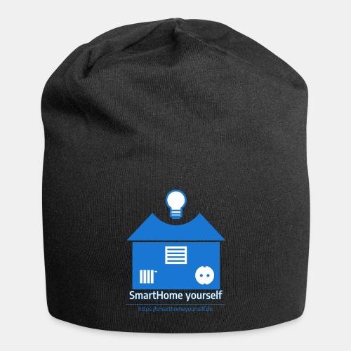 SmartHome yourself Logo Groß - Jersey-Beanie