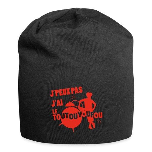 JPEUXPAS ROUGE - Bonnet en jersey