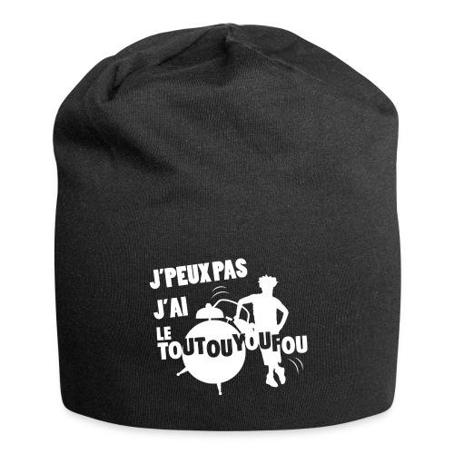 JPEUXPAS BLANC - Bonnet en jersey