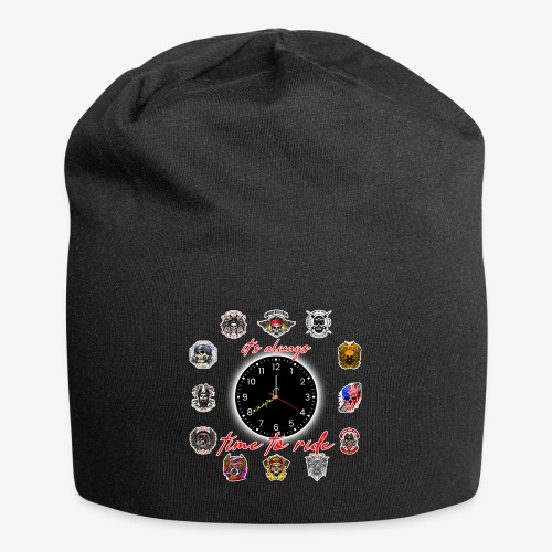 It's always time to ride - Collection - Beanie in jersey