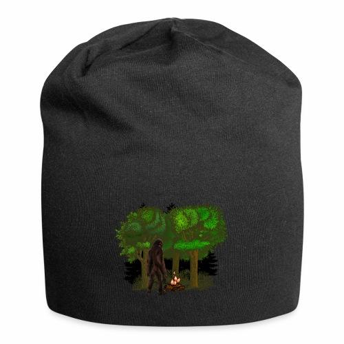Bigfoot Campfire Forest - Jersey Beanie