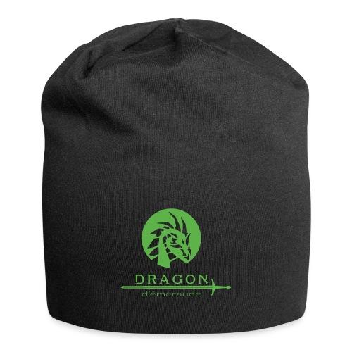 dragon d'émeraude vert - Bonnet en jersey