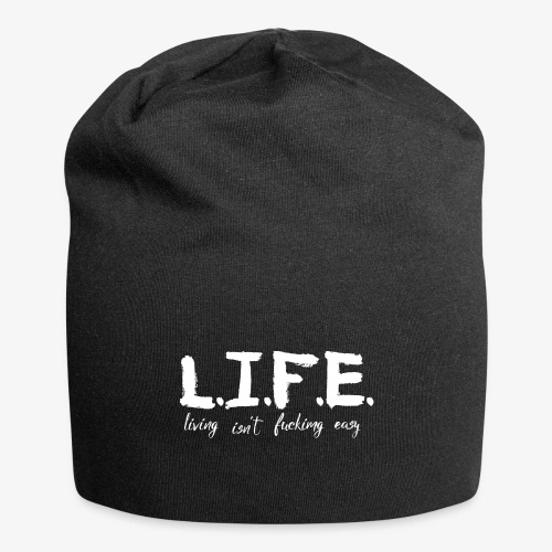 Life isn´t f*ing easy - Jersey-Beanie