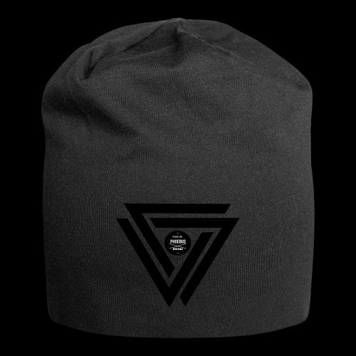 07logo complet black - Bonnet en jersey