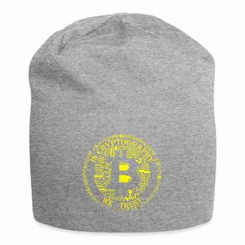In cryptography we trust 2 - Jersey Beanie