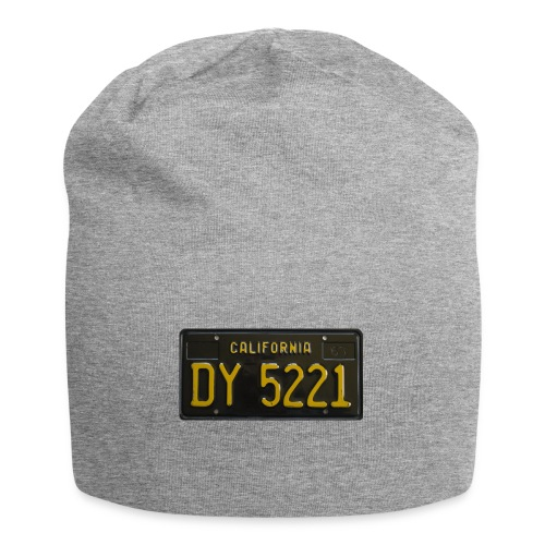 CALIFORNIA BLACK LICENCE PLATE - Jersey Beanie