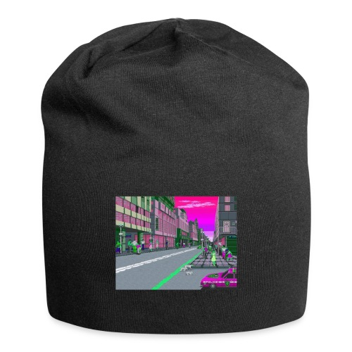 Game City 80's - Beanie in jersey