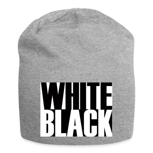 White, Black T-shirt - Jersey-Beanie