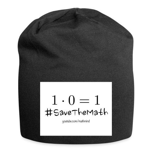 #SaveTheMath_1 - Beanie in jersey