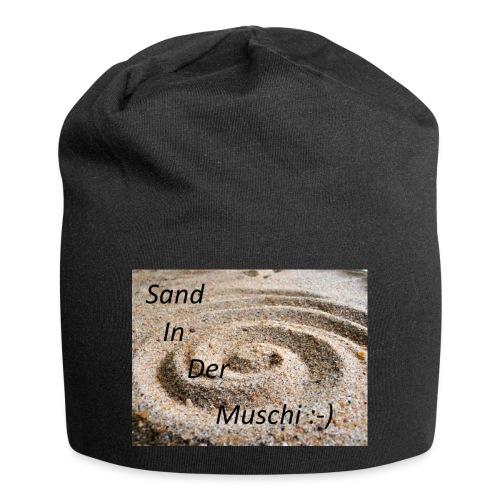 Sand in der Muschi - Jersey-Beanie