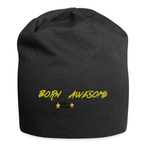born awesome - Jersey Beanie