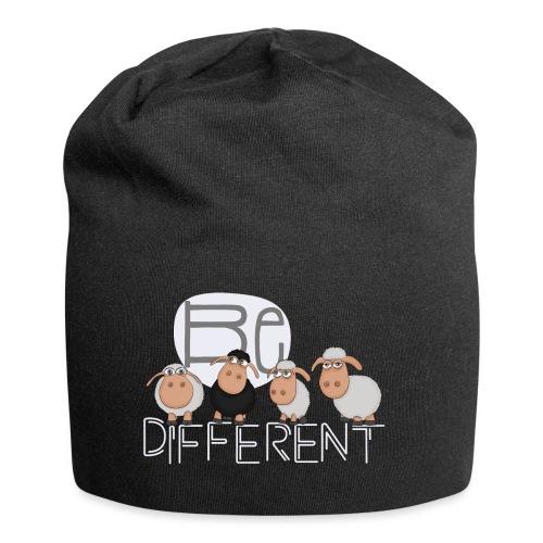 Be different Shirt: Einzigartige Schafe - Jersey-Beanie