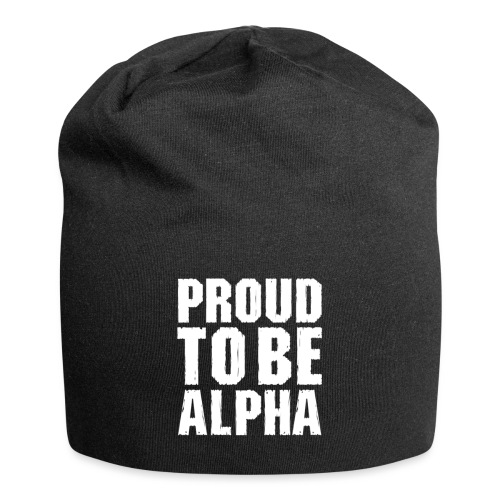 Proud to be Alpha - Jersey-Beanie