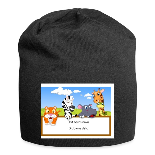 Your-Child Name - Jersey-Beanie
