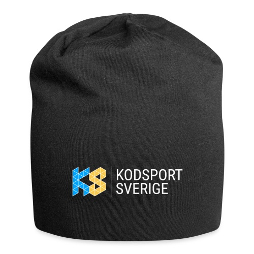 Kodsport logotyp - vit text - Jerseymössa