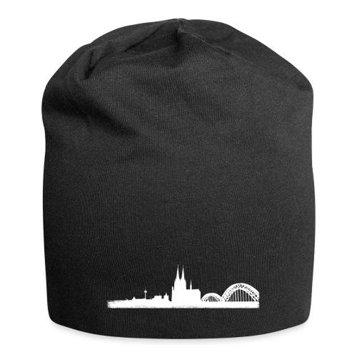 Köln-Skyline - Jersey-Beanie