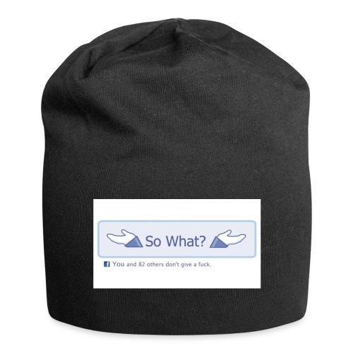 So What? - Jersey Beanie