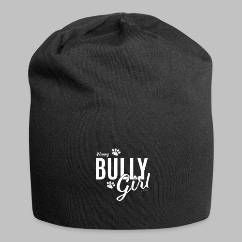 Happy Bully Girl - Französische Bulldogge Frenchie - Jersey-Beanie