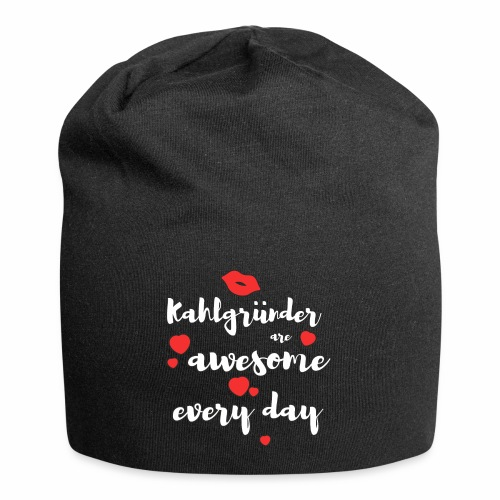 Kahlgründer Are Awesome Every Day - Jersey-Beanie