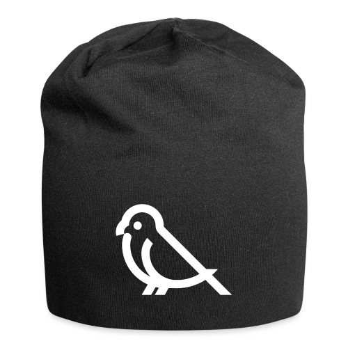 bird weiss - Jersey-Beanie