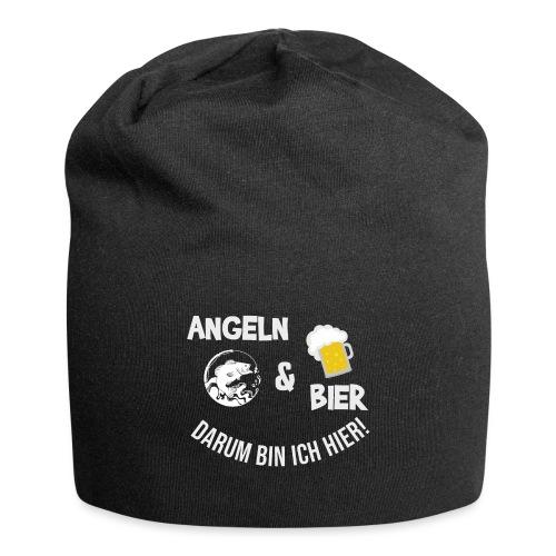 Angeln Bier Fischer Angler Sportfischer Angelfan - Jersey-Beanie