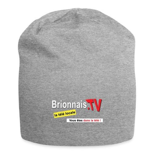 BTV logo shirt dos - Bonnet en jersey