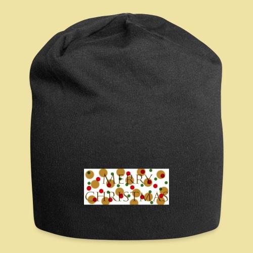 merry-christmas Logo Geschenk - Jersey-Beanie