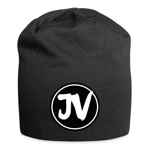 Jonathan Vlog Logo Kreis - Jersey-Beanie