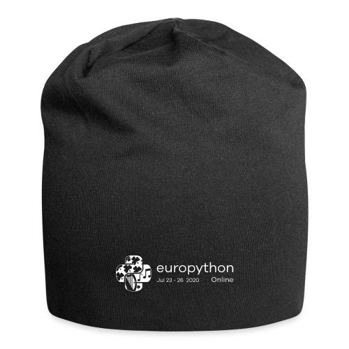 EuroPython 2020 - White Logo - Jersey Beanie