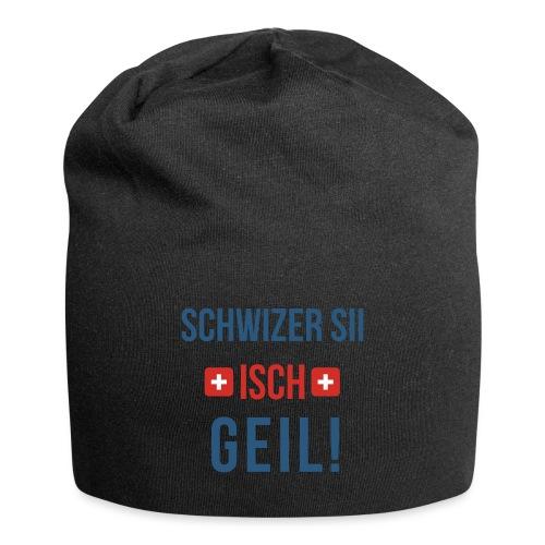 Schweizer sein ist geil! | Berndeutsch - Jersey-Beanie