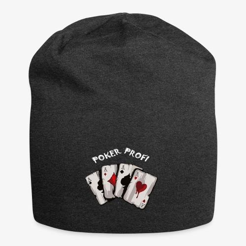 Pokerprofi TEXAS HOLDEM - Jersey-Beanie