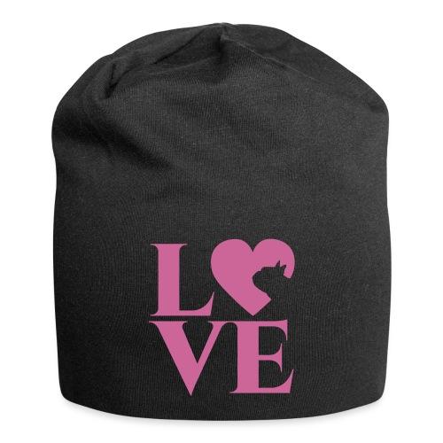 love - Jersey-Beanie