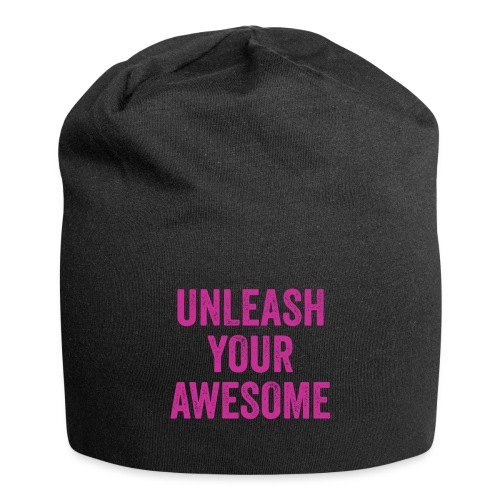 UYAtext PINK png - Jersey Beanie