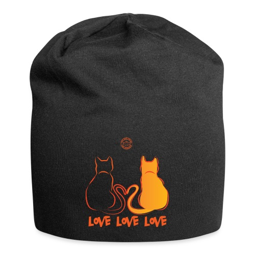The Red Twins LOVE LOVE LOVE 2 - Beanie in jersey