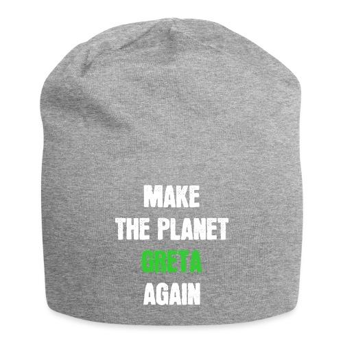 Greta Umweltschutz Welt Klimaschutz Klimawandel - Jersey-Beanie
