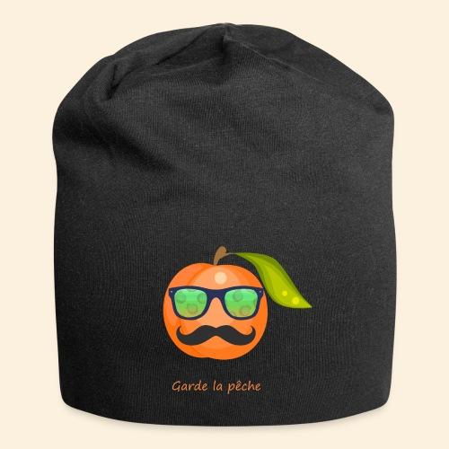 Lunette, moustache garde la pêche - Bonnet en jersey