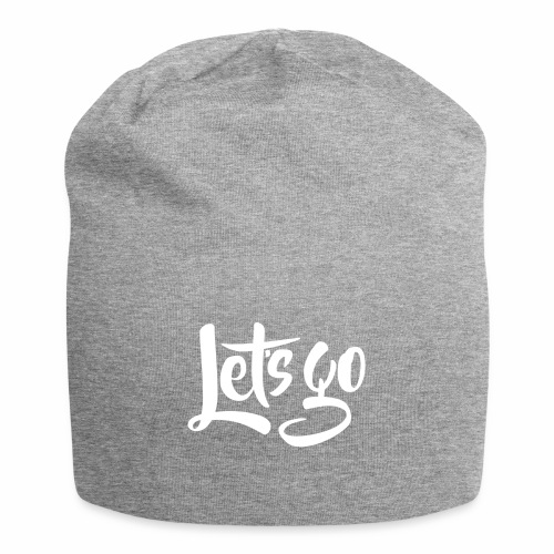 Lets go - Jersey Beanie