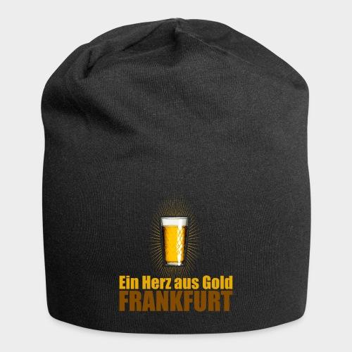 Frankfurt - Ein Herz aus Gold - Jersey-Beanie