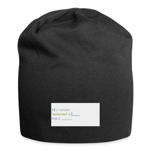 code - Bonnet en jersey