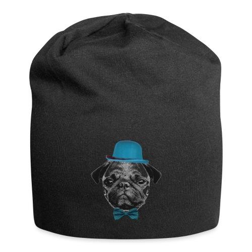 Mops Puppy - Jersey-Beanie