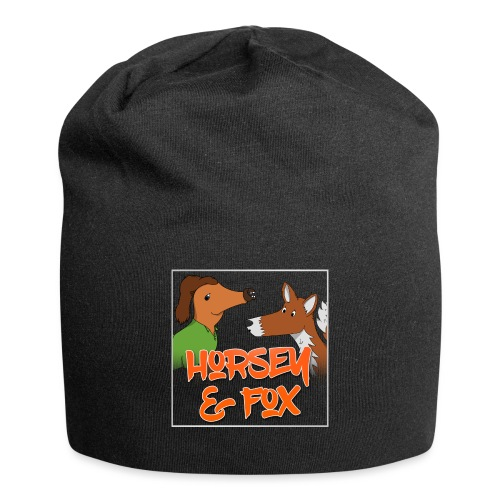 horsey-and-fox-design - Jersey Beanie