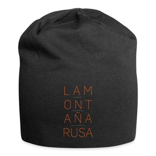 La Montaña Rusa - Gorro holgado de tela de jersey