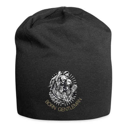 Born Gentleman Lion Design - Jersey-Beanie